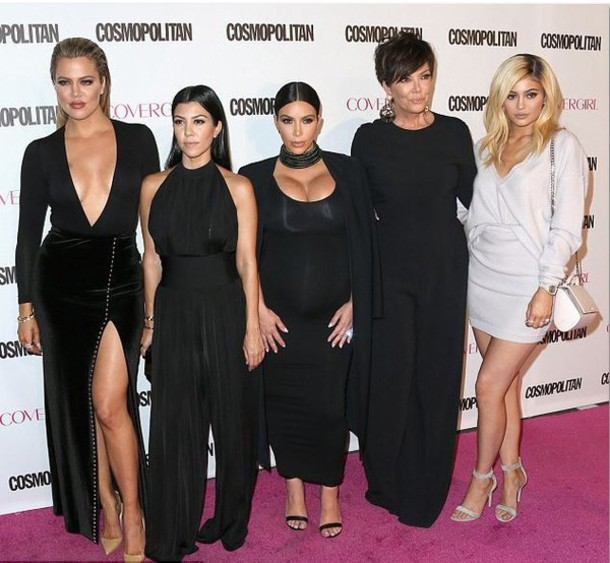 Dress Top Skirt Jumpsuit Kardashians Kim Kardashian Kris