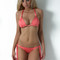 Dolcessa swimwear peach reverse triangle bikini - resort runway