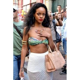 skirt mesh white rihanna see through bikini holes jewels rihanna jewelry rihanna style body chain gold body chain jewelry