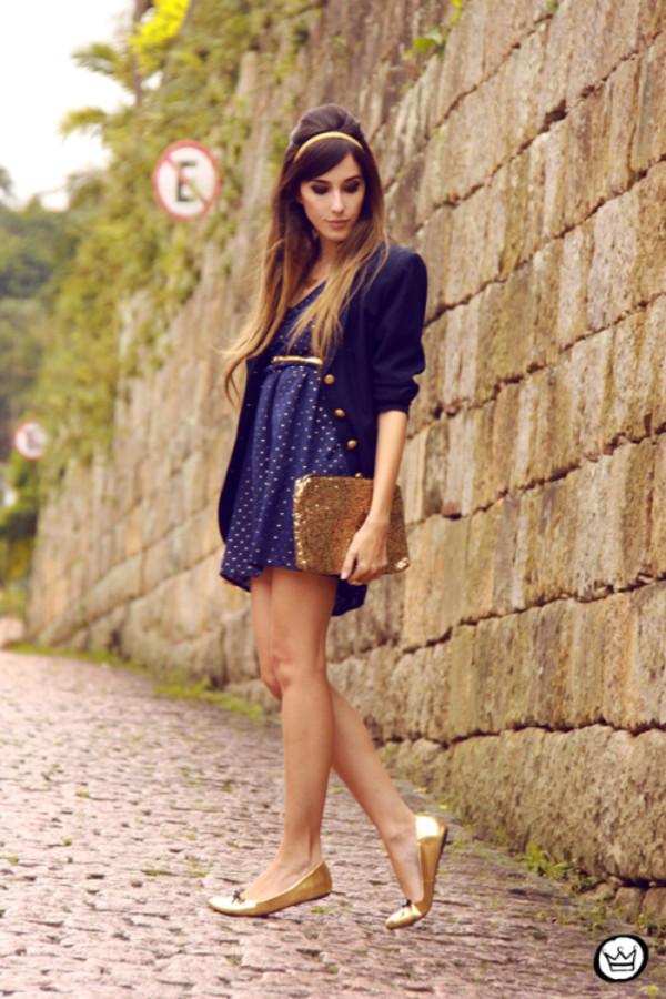 fashion coolture dress jacket bag jewels