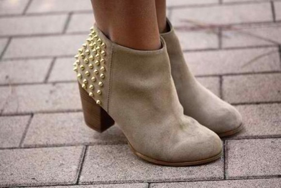 studs boots ankle boots winter boots shoes studded boots
