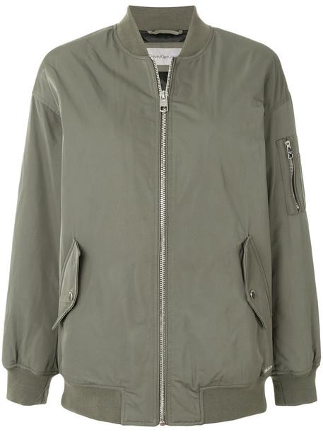 jacket bomber jacket women cotton green