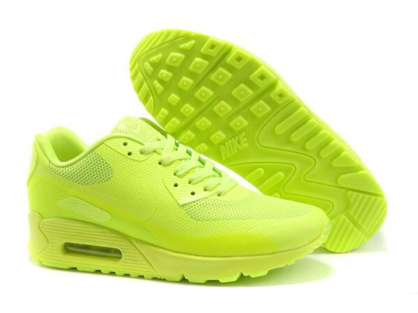 shoes neon yellow : volt