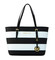 Michael michael kors jet set travel stripe medium tote