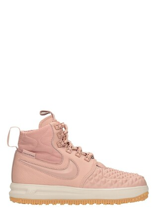 sneakers leather pink pink leather rose shoes