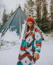 coat,colorful,winter outfits