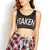 Hashtag Taken Crop Top   FOREVER21 - 2000089488