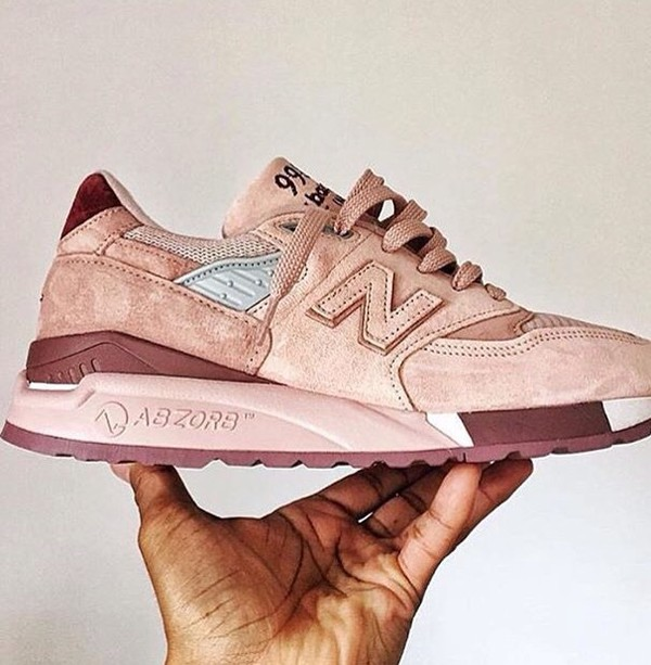 new balance rose gold