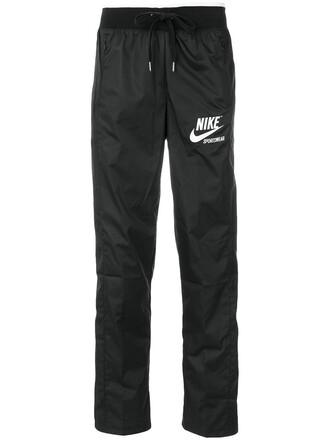 women classic black pants