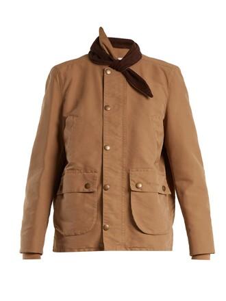 parka beige coat