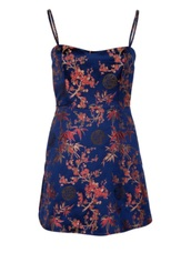 dress,oriental satin dress