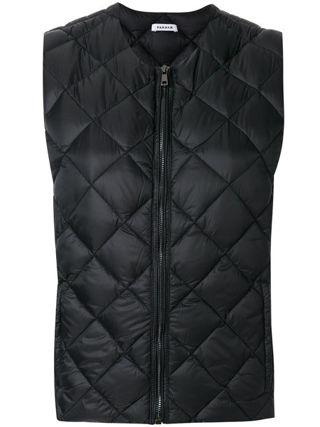 P.A.R.O.S.H. P.A.R.O.S.H. - sleeveless bomber jacket - women - Polyamide/Feather Down - XS, Black, Polyamide/Feather Down
