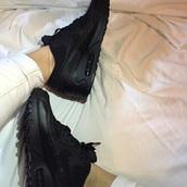 shoes,sneakers,black,nike,nike shoes,nike sneakers,black shoes,black sneakers,sportswear,sports shoes,sports sneakers,nike air,nike air force 1,nike air max 90