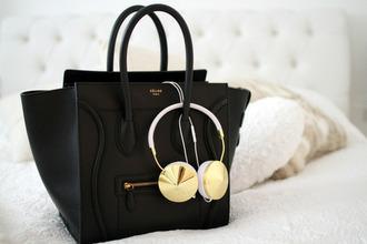 jewels earphones celine bag headphones luxe