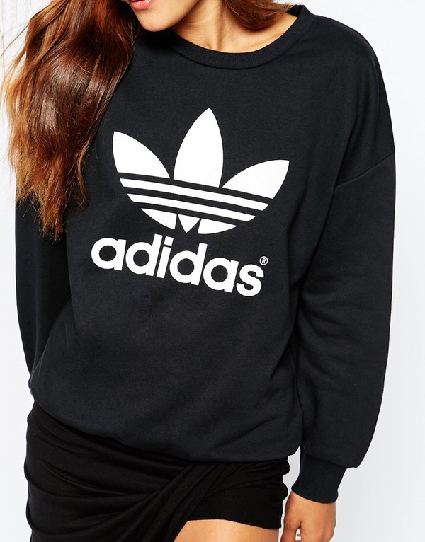 Trefoil Sweatshirt by adidas Originals