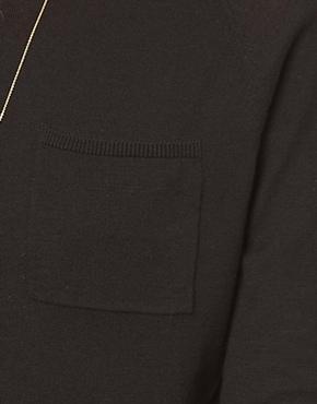 ASOS   ASOS Pocket Sweater With Raglan Sleeve at ASOS