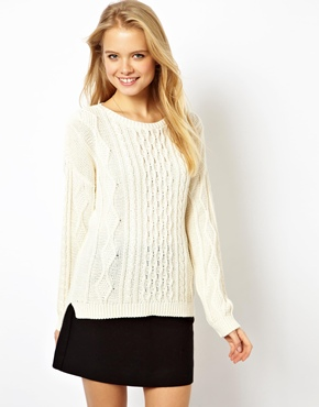 ASOS | ASOS Aran Cable Sweater at ASOS