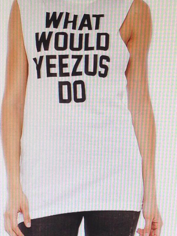 t-shirt kanye west yeezus shirt