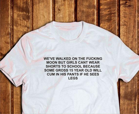 daaea6275a We've Walked On The Moon Shirt, Teen School Shirt, Tumbl Tshirt Design,  Quote Tshirt Girls ...