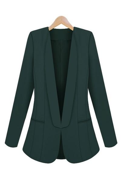 Chic Shawl Collar Blazer - OASAP.com