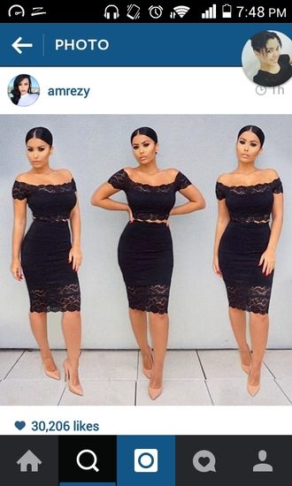 dress black dress two piece dress set amrezy