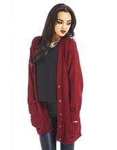 jacket,cardigan,burgundy