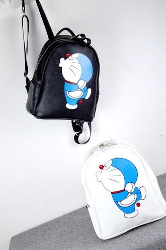 bag backpack women doraemon school bag leather backpack tote bag women shoulder bags doraemon kigurumi
