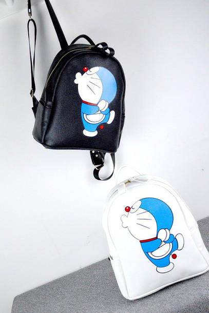cd053eb011cf bag backpack tote bag women doraemon school bag leather backpack tote bag  women shoulder bags doraemon