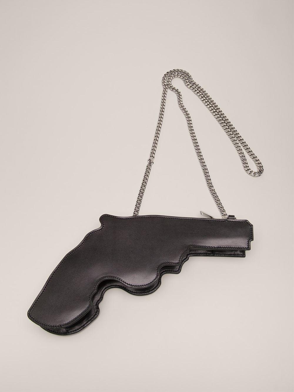 Saint laurent 'bo gun' purse