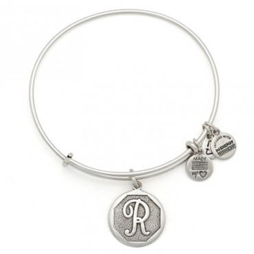 Initial Bracelets   Letter R Charm | ALEX AND ANI