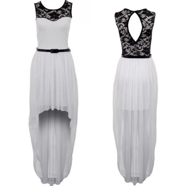 dress high low dress maxi dress