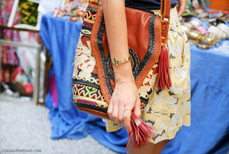 bag leather bag ethnic hippie aztec leather coloured bohemian vintage purse handbag hobo pattern tassel brown black indie hipster lace international travel hippie chic travel bag