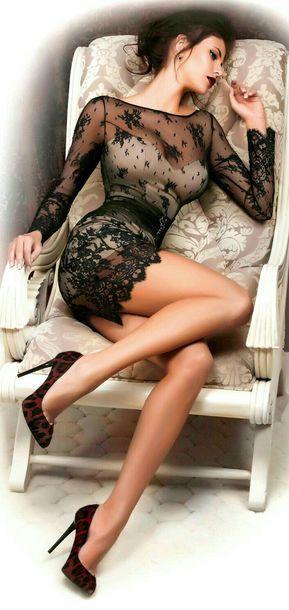 dress see through dress