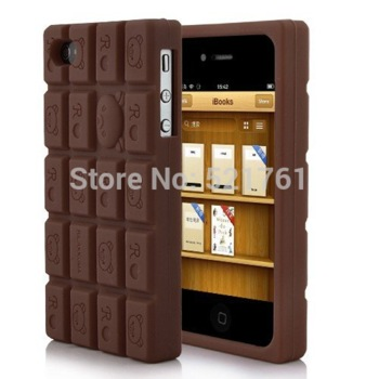 Silicone Rilakkuma Chocolate Style Case Cover For iPhone 4 and 4S CHOCOLATE-in Phone Bags & Cases from Phones & Telecommunications on Aliexpress.com | Alibaba Group