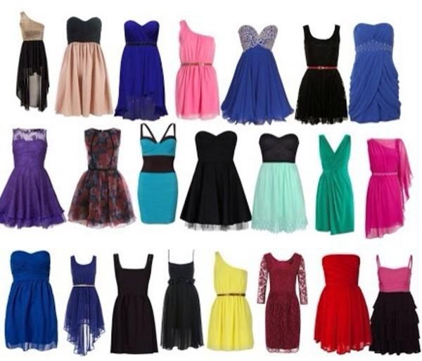 dress black dress white dress prom dress pink dress blue dress