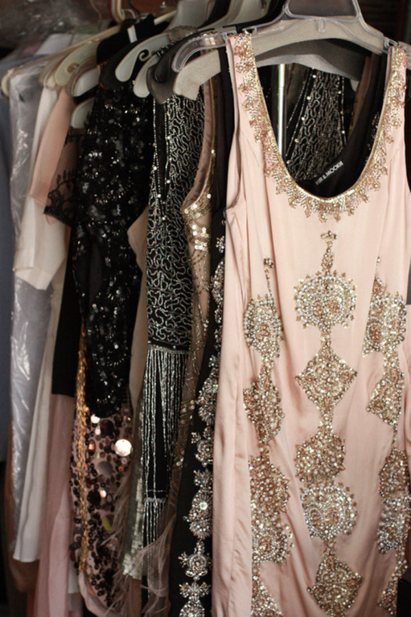 dress prom sparkle nude pink black smart bag 2015 2016 new year's eve new year's eve party nye dress jeweled glitter first one sparkly cream dress flapper 1920s vintage dress sweet soft silver short mini night hipster boho indie hippie chic