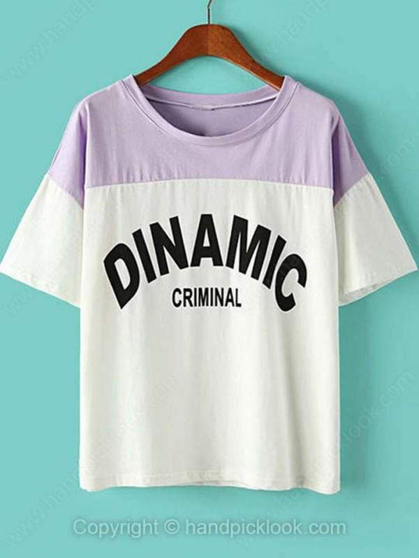 top t-shirt print top