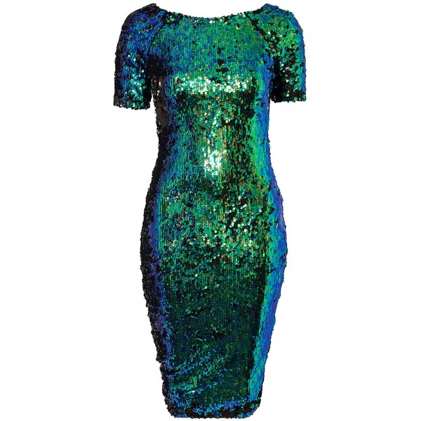 Ax Paris Irrestin Sequins Midi Dress - Polyvore