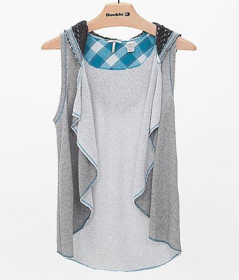 BKE Hooded Vest - Women's Vests | Buckle
