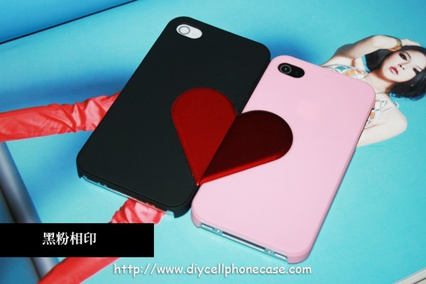 Couple Love apple Protective case for iphone4/4s - $39.99 : Case for iphone _ diy iphone case, ipad case and more accessories, Case for iphone _ diy iphone case, ipad case and more accessories