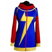 jacket,ms marvel,kamala khan,hoodie,fashion,ootd,style,womenswear,outfit,shopping