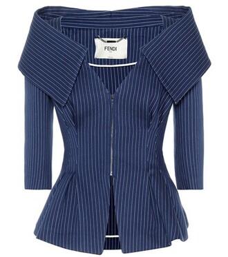 jacket cotton blue