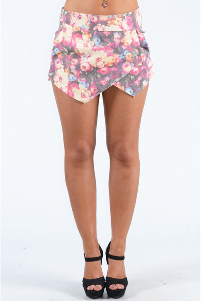 Shorts: floral, ladies, popcoutureclothing, popcouturecouk, summer ...