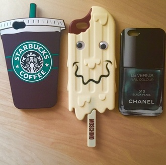 phone cover phone cover starbucks coffee ice cream chanel nail moschino iphone cover chanel iphone cover