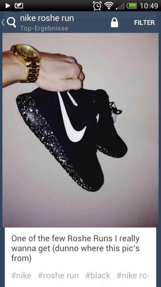 shoes sparkling nike roshe run nike roshe run run