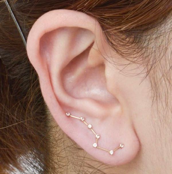 jewels earrings constellation
