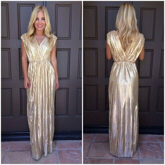 metallic dress metallic gold dress ustrendy ustrendy dress grecian dress grecian maxi dress