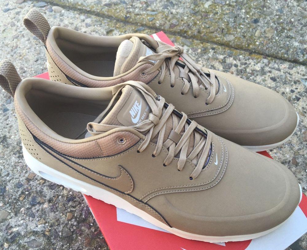 Nike Womens Air Max Thea Prm Desert Camo Sail Sz 12 NIB Premium