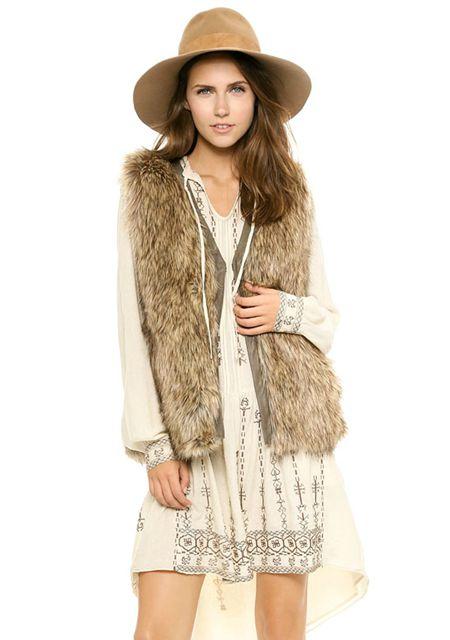Women's pu leather edge sleeveless stylish vests online