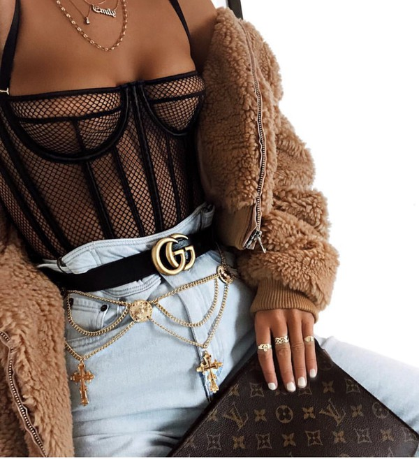 top bodysuit mesh black outfit outfit idea cute cute outfits fashion